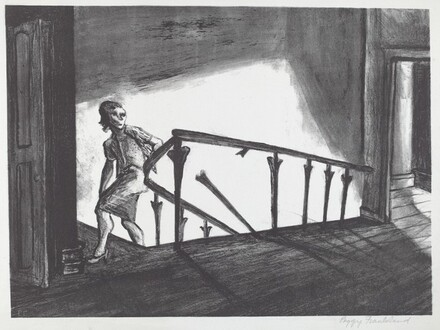 Untitled (Woman on Stairway)