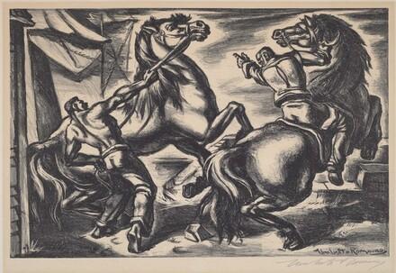 Untitled (Horse Handlers)