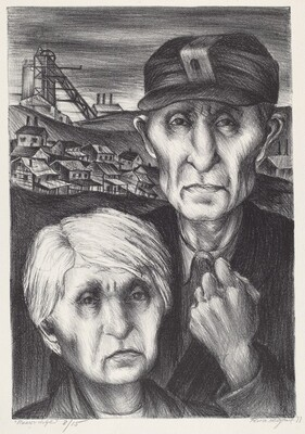 Miner and Wife