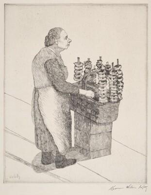 Untitled (pretzel woman)