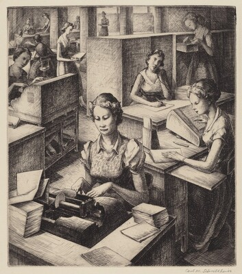 Untitled (Office Workers)