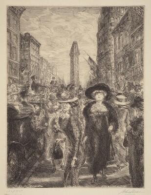 Fifth Avenue, 1909