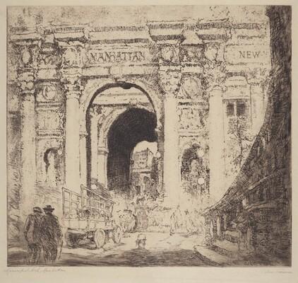 Municipal Arch, Manhattan