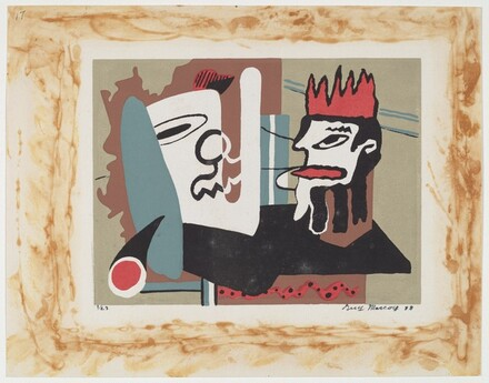 Untitled (Abstract Masks)