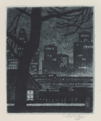 Untitled (New York at Night)