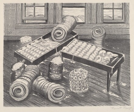 Untitled (Carding Cotton)