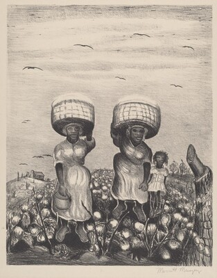 Untitled (Cotton Pickers)
