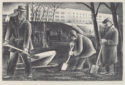 Untitled (Three Men on a Public Works Project)