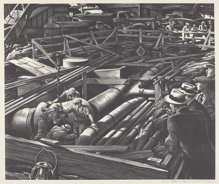 Untitled (Laying Pipe in New York City)