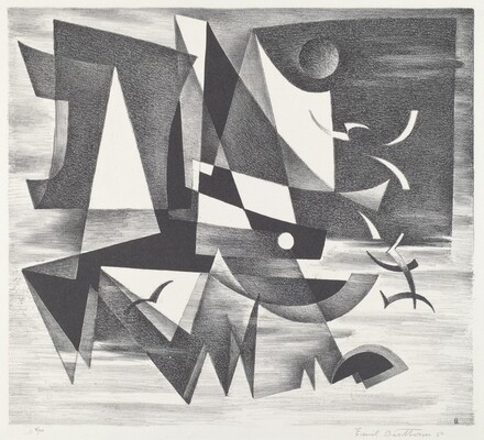 Untitled (Geometric Abstraction)