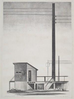 Weighing Station, Krum, Texas