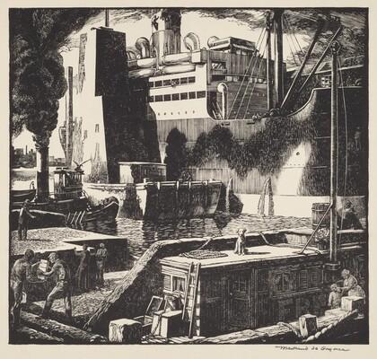 Untitled (Dock Scene)