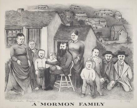 A Mormon Family