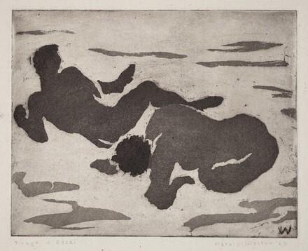 Bathers, Plate III