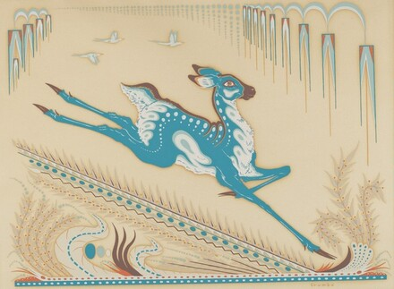 Untitled (Stylized Antelope)