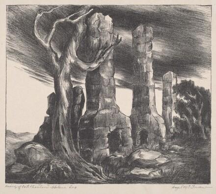 Ruins of Fort Phantom - Abilene Tex.