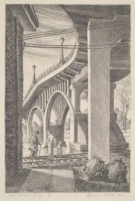 Under the Arsenal Bridge