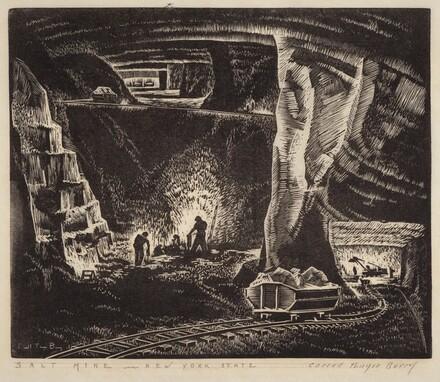 Salt Mine - New York State