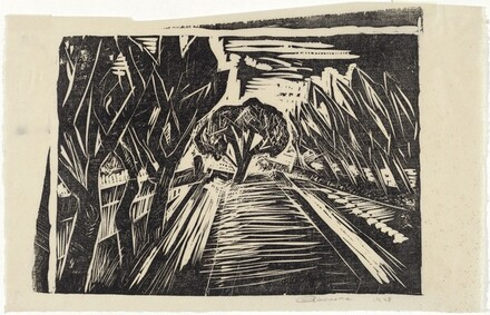 Untitled (Treelined Road)