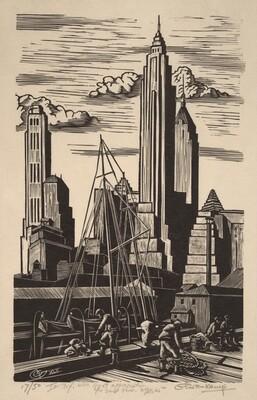 Untitled (New York Skyline)