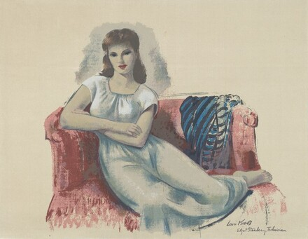 Untitled (Woman on Couch)
