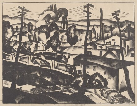 Lithograph #5 (Gas Factory)