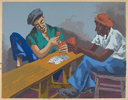 Untitled (Card Players)