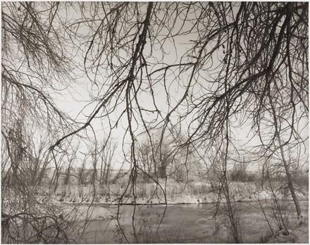 Winter, East of Fort Collins, Cache la Poudre River
