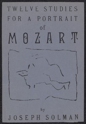Untitled (cover image for Twelve Studies For A Portrait Of Mozart)