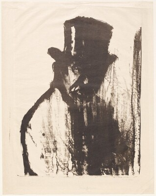 Gentleman in a Top Hat (Dr Gustav Schiefler)