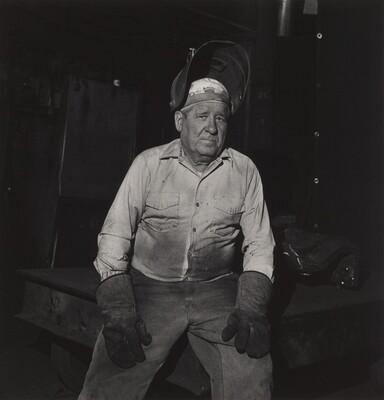 Retiree, Atlas Steel Casting (Working People series)