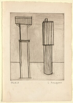 He Disappeared into Complete Silence, Plate 2