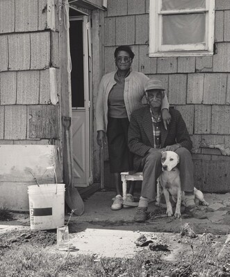 Hubert Morrison with His Wife and Dog, Atlas Steel (Working People series)