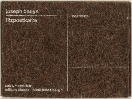 Felt Postcard