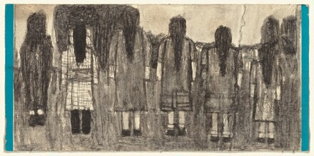Untitled (Figures Seen from Behind)