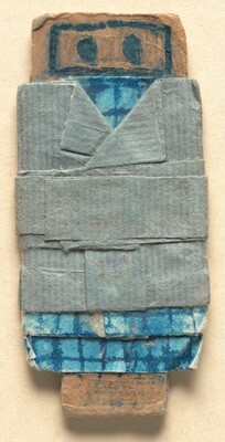 Untitled (Small Figure Dressed in Blue)