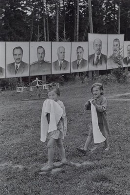 Young Pioneer Camp, Soviet Union