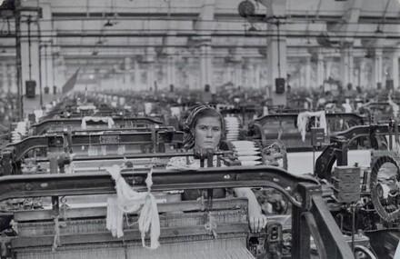 Textile Mill, Soviet Union