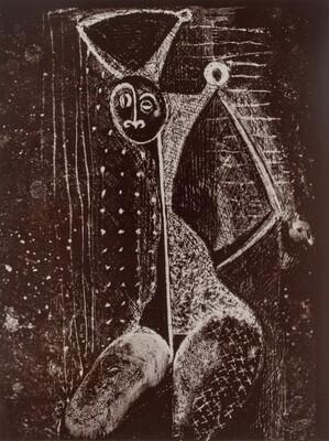 Sévillane dénudée (Naked Woman of Seville), from Transmutations