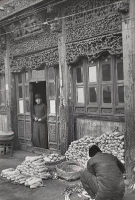 Bok Choy Vendor, Beijing, China