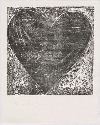 The Jerusalem Woodcut Heart