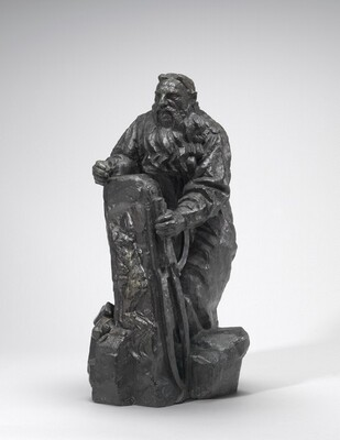 Rodin Working on his Gates of Hell