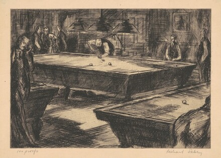 Billiards at the Century Association