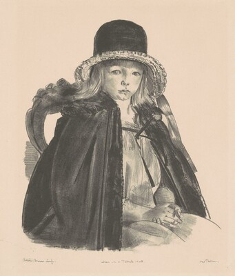 Jean in a Black Hat, first state