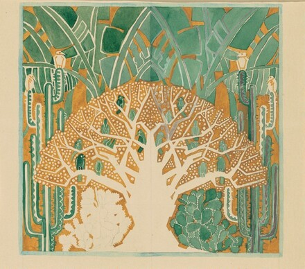 Tree (Curtain Design for Rio Rita)