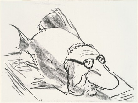 Henry Kissinger as a Fish