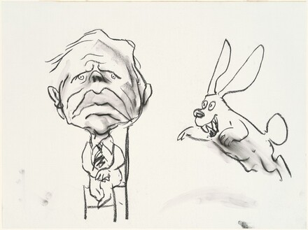 President Carter with Rabbit