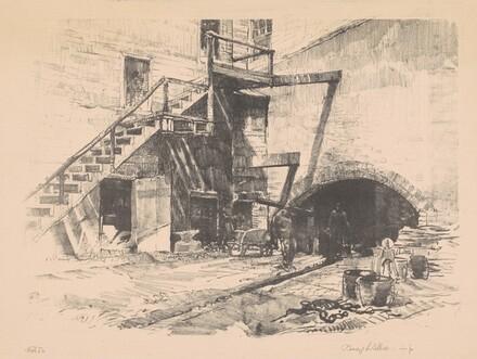 Tunnel Under Stairs