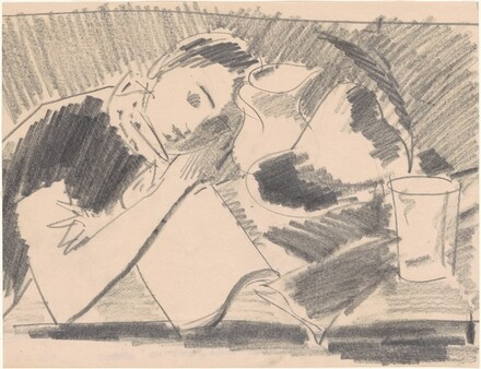Study No. 3 for Model Resting