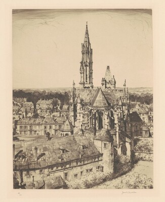 Senlis from a Crow's Nest